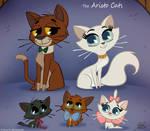 50 Chibis Disney : Aristo Cats by princekido