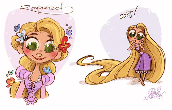 Some Rapunzinettes by princekido