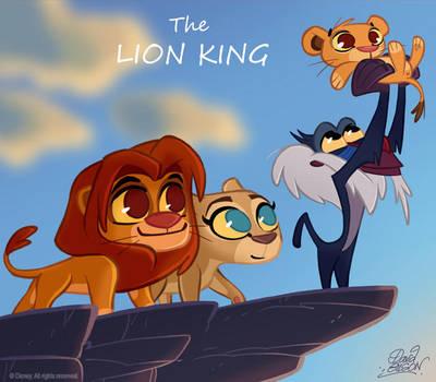 50 Chibis Disney : Lion King by princekido