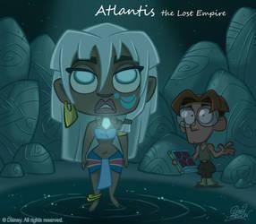 50 Chibis Disney : Atlantis by princekido