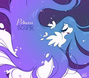 Princesse Soupir aux cheveux longs... by princekido