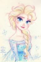 ELSA the Snow Queen from Disney's FROZEN by princekido
