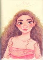 Disney's Moana by princekido