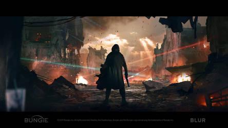 Destiny 2 Cinematic - Concept Art by DmitryTsmokh