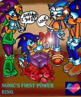 Sonic's birthday present by jayfoxfire