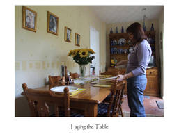Laying the Table by Hannatar
