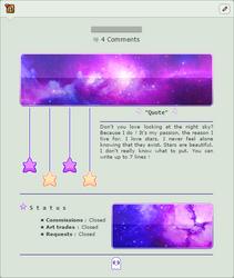 F2U : Non-core box code - Stars by Milkyboos
