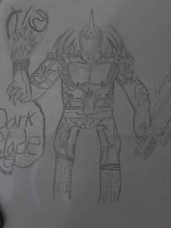 My Male Fantasy OC 1: Dark Blade/Pen by D4RK0V3R10RD
