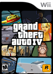 GTA IV Box Art: Wii by SlimTrashman