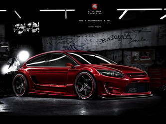 Lithuania Team5 Ford Focus rs by TaTukas