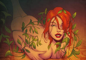 poison ivy by Uddermadness