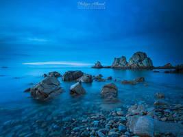 Blue Awaken by Philippe-Albanel