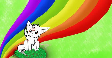 Rainbow God_HBD Volcano by Pearlpelt-Shadow