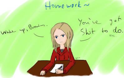 Homework by Pearlpelt-Shadow