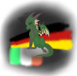 Dragon Germany by Pearlpelt-Shadow
