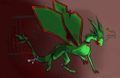 Peta-Flygon (Blog start) by Pearlpelt-Shadow