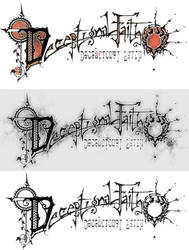 deceptional faith logo by AyameFataru