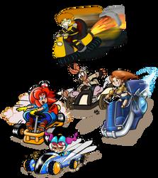 Deviant kart Collab by FlintofMother3