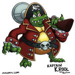 Kaptain K.rool by FlintofMother3