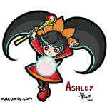 Ashley by FlintofMother3
