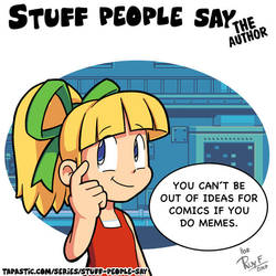 Stuff people say 285 by FlintofMother3