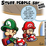 Stuff people say 300 by FlintofMother3