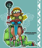 Lucoa Quetzalcoatl by FlintofMother3