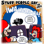 Stuff people say 322 by FlintofMother3