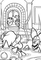 SMB the movie coloring book REMAKE 33 by FlintofMother3