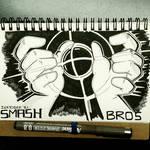 INKTOBER 31 SMASH by FlintofMother3