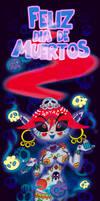 Dia de Muertos by FlintofMother3