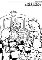 SMB the movie coloring book REMAKE 60 by FlintofMother3