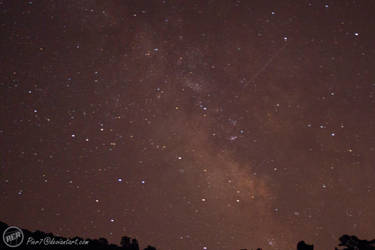 Milky Way with Shooting Star by Pier7