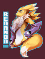 Renamon by PurpleLemons
