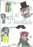 Le Moustache by Senpai-Hero