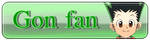 Gon Fan Button by Senpai-Hero