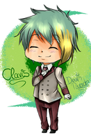 Chibi Clavis~Death Parade by Senpai-Hero