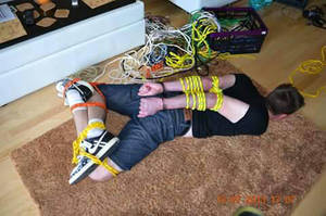 I'm all tied up by Skateboymaster