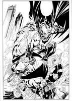 Batman VS Bane by ardian-syaf