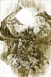 Batman in Rain by ardian-syaf