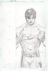 Superman Earth One Cover by ardian-syaf