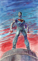 Superman New Costume by ardian-syaf