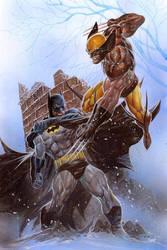 Batman VS Wolverine by ardian-syaf