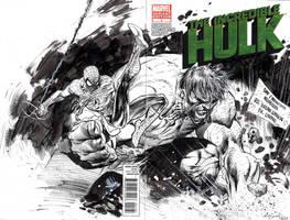 Hulk VS Spidey by ardian-syaf