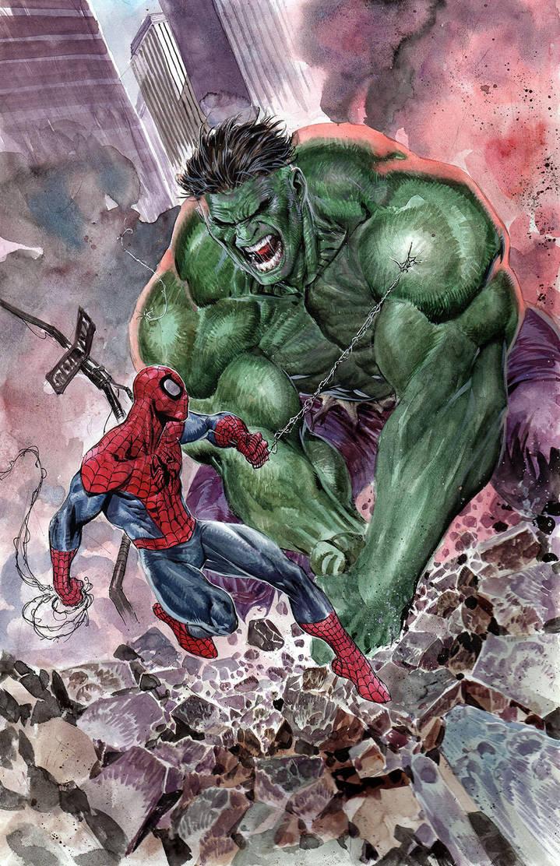 Hulk VS Spiderman by ardian-syaf