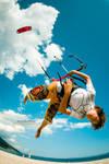 little kitesurfer by tomislav-moze