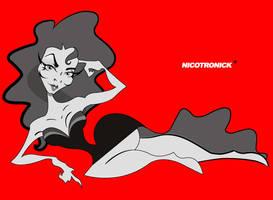 Maria Felix by nicotronick
