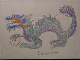 Dimondclaw by woodywoodwood