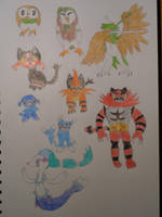 All Of The Pokemon 109 by woodywoodwood