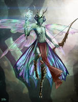 Mantis Folk by Brandon-Ellis